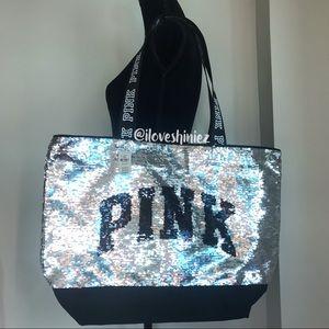 •Victoria's Secret PINK• Bling Tote Bag